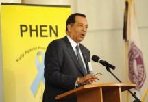 Thomas A. Farrington, at PHEN's 2012 Summit